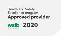 WSIB 2020 Health and Safety Excellence program Approved provider